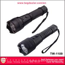 High Voltage Self Defense with LED Flashlight