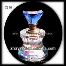 Schöne Kristallparfümflasche C176