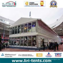 Zweistöckige Zelte 15X15m als Konferenzraum / Konferenz / Temporärbüro