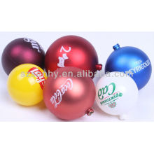 Christmas Plastic Bauble With Custom Designs LOGO