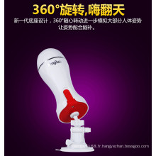 Tasse d'avion de jouet de sexe d'adulte d'utilisation masculine Injo-Fj008