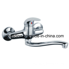 Brass Single Lever Kitchen Faucet