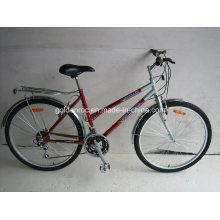 """26 """"bicicleta de montanha de armação de aço (mln2602)"""
