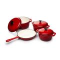Enamel Cast Iron Cookware Set