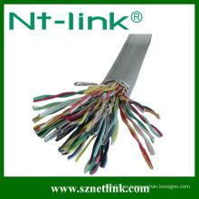 100 pares cat5e cable de telecomunicaciones