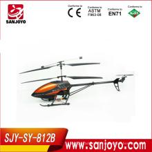hélicoptère rc géant 3.5CH hélicoptère rc w / LED-cadre métallique