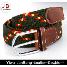 2016 Men Pin Buckle Polyester Braid Belt