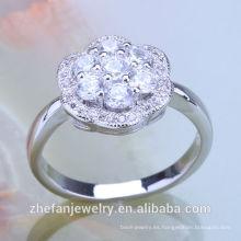 anillos de compromiso de la moda para el proveedor de China del anillo al por mayor de la pareja india