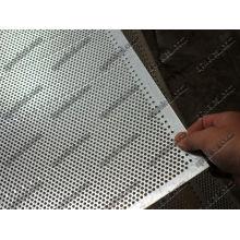 3mm Round Perforated Meta Sheetl, 1.2m X 2.4m Per Sheet