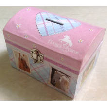 Ahorro de papel Pot / Piggy Bank Caja de papel / Money Saveing ​​Box