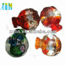Many Colors Murano Perfume Bottle Pendant Necklace Murano Glass Pendant Necklace