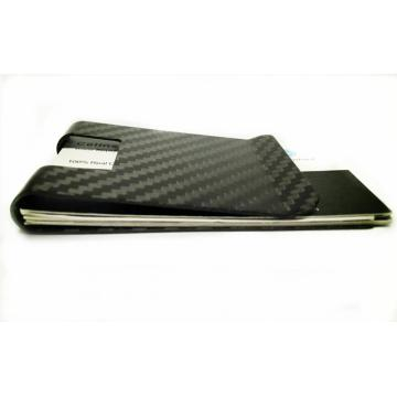 RFID prevention carbon fiber money clips