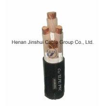 4 cable de tierra subterráneo / cable de alimentación XLPE