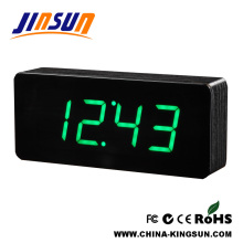 Acrylic Surface Led Dispaly Alarm Clock Square