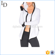 Yoga sport femmes veste casual polaire veste design