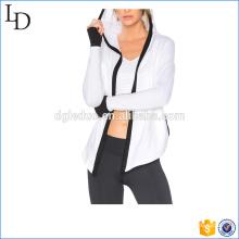 Йога спорт женщины куртка свободного покроя флис дизайн куртка