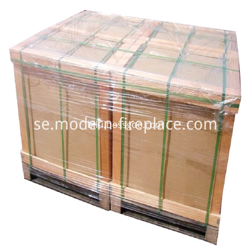 Steel Plate New Design Stoves Packaging