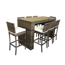 Günstige Outdoor Classic-Bar-Hocker-Möbel-Sets