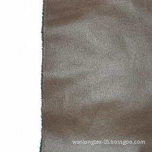 Artificial leather with T/C, used for sofa cushion upholstery, environment-friendly
