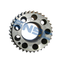 Suku Cadang Mesin Sinotruk VG1246020011 Crankshaft Rear Gear SNSC