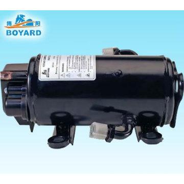 12V 24V DC aircon a/c compressor for Truck cabin Excavator crane crab forklift a c