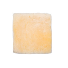 Almofada quadrada de alívio de pressão de esteira de pele de carneiro