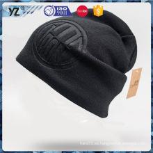 Nueva y caliente buena calidad lana gorrita tejidos sombrero con buena oferta
