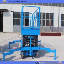 O uso rebocador popular do armazém hidráulico Scissor a plataforma do elevador