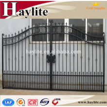 Different types of iron gate grill designs with galvanized sheet