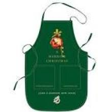 Promotional Cotton Pictures Embroidered Custom Terry Bib Pinafore