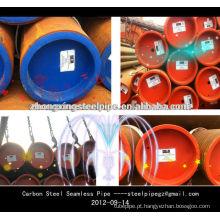 Tubo de aço sem costura ASTM A106 / ES:TUBOS