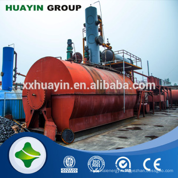 Xinxiang HuaYin Renewable Energy Equipment True Manufacturer Small Scale Crude Oil Refinery
