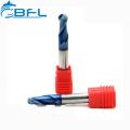 BFL Hartmetall-Kugelkopf-CNC-Fräser-Schaftfräser, Hartmetall 2, 4-Wellen-Kugelfräser