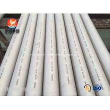 Tuyau sans couture d'écran de puits d'eau de pipe d'acier inoxydable d'ASTM A312 TP304L / écran de base de tuyau / tuyau perforé