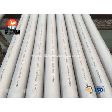Stainless Steel Seamless Pipe ASTM A312 TP304L Water Well Screen pipe / Pipe Base Screen / Perforated pipe