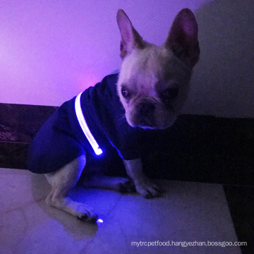 LED safety Dog Vest Jacket Raincoat Winter Pet Clothes Warm Jacket For Pet