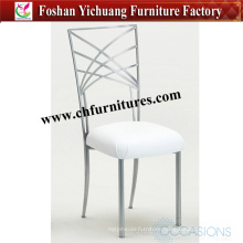 2016 New Design Silver Iron Chiavari Chair for Wedding and Banquet Yc-A105-01