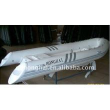 bateau rigide de fibre de verre ce RIB480 avec moteur 50hp