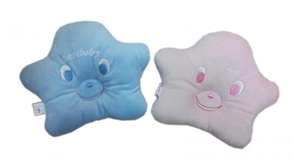 Eco- Friendly Cute Star Shape Baby Pillow
