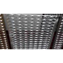 Placa de metal perforada antideslizante 15cm de apertura
