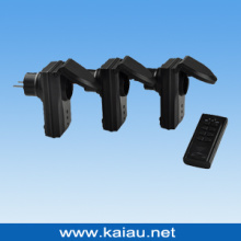 IP44 Waterproof RF Remote Control Plug (KA-GRS03-IP44)
