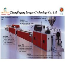 Extrusora do canal do contorno do PVC / UPVC / fiação, linha de produção do perfil do PVC