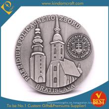 Monedas metálicas personalizadas de la antigüedad 3D Brazil Authority (LN-0100)