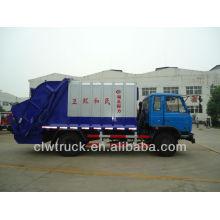 Dongfeng 145 8-10m3 novo compactadores de lixo