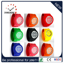 Lady′s Electronic Digital Silicone Sports Wrist Watches (DC-099)