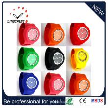 Электронная Цифровая дамы силиконовые спортивные наручные часы (ДК-099)