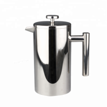 French press for coffee making