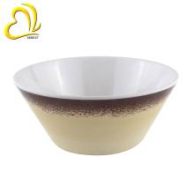 деколь печать 6 дюймовый круглый салат меламина чаши
