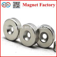 round neodymium magnet n35 countersunk hole