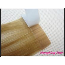 Cheveux péruviens double face extensions de cheveux de bande vierge brésilienne